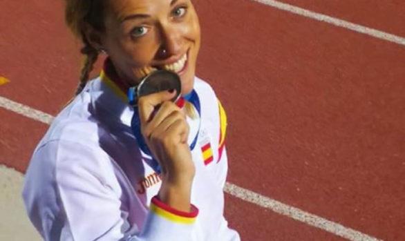 Subcampeona en los Juegos del Mediterráneo