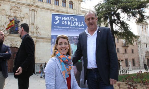 Eva Moral y Fermín Cacho para la III Maratón de Alcalá