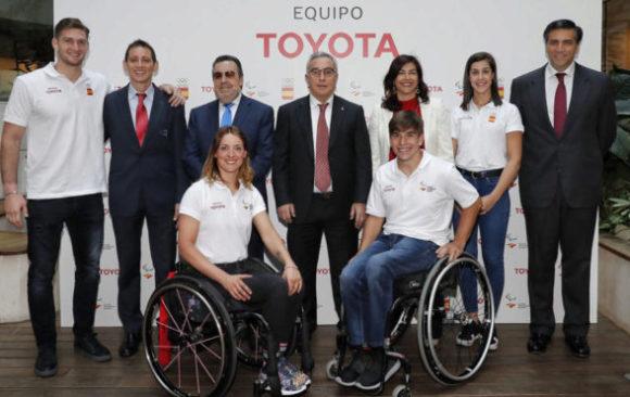 Se presenta el Equipo Toyota, motor de los Juegos de Tokio 2020-14 de abril 2019