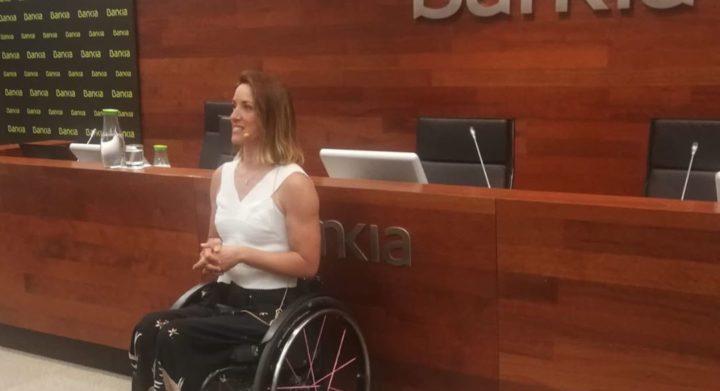 Eva Moral en acción Bankia
