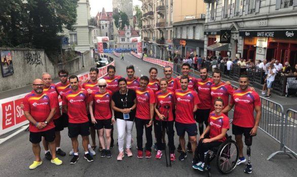 Lo más destacado del Campeonato del Mundo de Paratriatlón de Lausanne