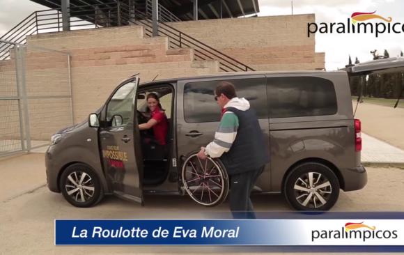 La 'roulotte' de Eva Moral