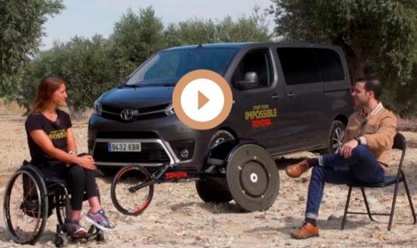 Entrevistamos a la triatleta paralímpica Eva Moral en Centímetros Cúbicos