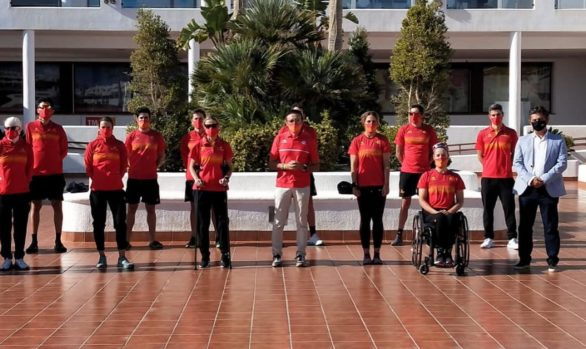 Vídeo de la Concentración selección española de Paratriatlón en Mar de Pulpi  gracias a Teledeporte.