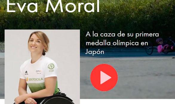 Eva Moral-A la caza de su primera medalla olímpica en Japón
