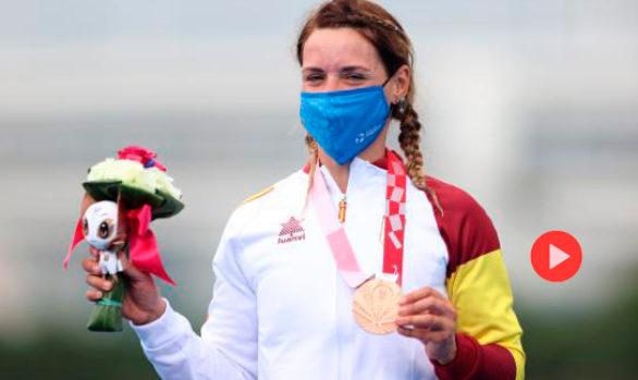 Entrevista de la Cadena Ser a Eva Moral, medalla paralímpica en triatlón